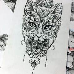 Discover recipes, home ideas, style inspiration and other ideas to try. Portrait Tattoo Sleeve, Cat Portrait Tattoos, Dog Tattoos, Animal Tattoos, Body Art Tattoos, Small Tattoos, Tatoos, Animal Lover Tattoo, Tattoos For Dog Lovers