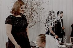 """Christine with Cam's veil on Camille and Arastoo's wedding said: """"I'm a bride!"""" Brennan:,, Actually, in the United States, marriage is illegal under the age of 18. But you are very beautiful."""""""