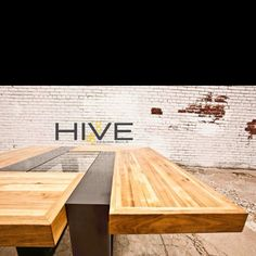 Custom Dining Table for 6 by HIVE Design Build :)