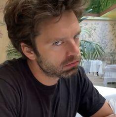Sebastian Stan, Bucky Barnes Aesthetic, Bucky Barnes Captain America, Winter Soldier Bucky, Marvel Photo, Man Thing Marvel, Marvel Jokes, Cute Actors, Celebs