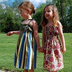 25 free little girl dress tutorials