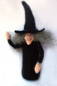 Witchy-Poo, Needle felting doll tutorial | Laura Lee Burch Blog