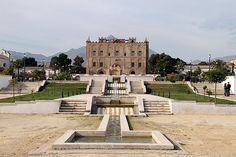 La Zisa - Incredible palace in Palermo Sicily