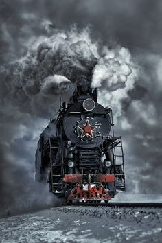Steam locomotive…