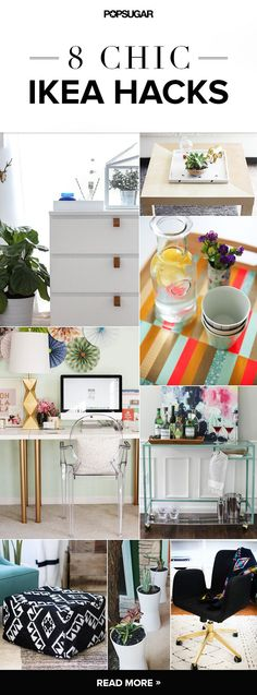 DIYs that start with a trip to IKEA: Keep your #apartment looking great on a budget! #DIY