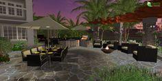 Why request a professional VizTerra 3D hardscape and landscape design from your landscape architect?