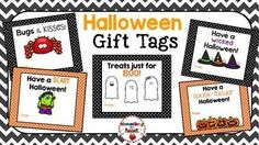 #tpt #tptpins #halloween #elementary #gifttags #goodies #treats Use these 5 adorable Halloween Gift Tags with any TREAT for your kiddos!Happy Halloween!!Customer Tips:How to get TPT credit to use on future purchases: Please go to your My Purchases page. Beside each purchase you'll see a Provide Feedback button.  Click it.