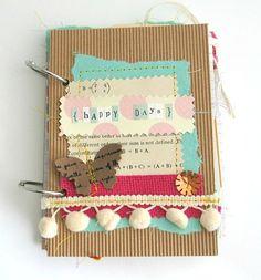 Junk Journal, Art Journal, Smash Book, Handmade Journal, Paper Goods, Stationery, Scrapbook Journal