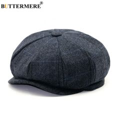 Buy Peaky Blinders Style Tweed Newsboy Flat Cap at loveflatcaps.com! Free  shipping to 2a8ee001479c