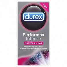Durex Performa Intense Mutual Climax Condoms Pack Light and Travel safe. These fantastic condoms from Durex are a key part of your safe travelling. Pack them up and enjoy safe sex wherever in the world you might be.