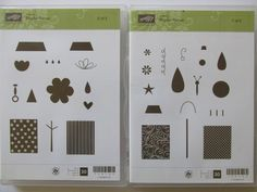 Stampin' Up!, Rare, Retired, Hostess Set, NIP, Playful Pieces by CherylsStampStuff on Etsy
