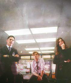 Hotch, Reid, Blake