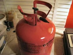 Reusing a Disposable Helium Tank