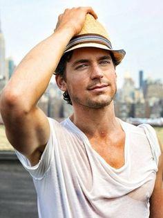 Love Matt in his hats!