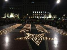 2.500 espelmes!