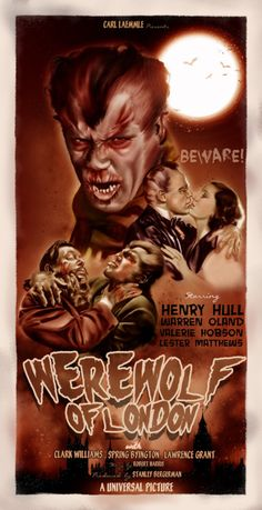 superb modern digital art (Electric Rhys) of an underappreciated Universal Horror Film (1935)