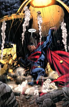 Don't Ever Quit. Kingdom Come/Earth-22 Superman by Dale Eaglesham.