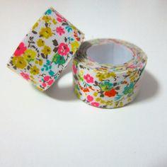 Self adhesive fabric masking tape / fabric sticker by Cutezakka, $2.80. I have no idea why, but I need this.