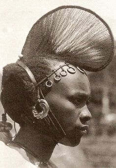 (from the book Hair in African Art and Culture edited by Roy Sieber and Frank Herreman) #hairstory