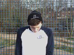 Long sleeve baseball tee and beanie hat joffa.co.uk