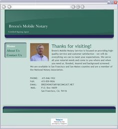 Breen's Mobile Notary  - About Us - Brisbane, CA