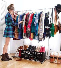 Comfy Bedroom Closet Designs For Small Spaces Closet Interior, Bedroom Closet Design, Closet Designs, Home Decor Bedroom, Wardrobe Design, Bedroom Ideas, Closet Conversion, Organizar Closet, Clever Closet