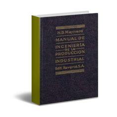 ACTUALIZADO ! | Manual de Ingeniería de la Producción Industrial | Maynard | PDF…