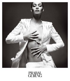 Joan Smalls Stars In Prabal Gurung's Spring 2013 Campaign | StyleCaster