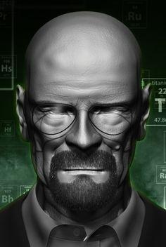 "Check out my @Behance project: ""Heisenberg"" https://www.behance.net/gallery/46028189/Heisenberg"