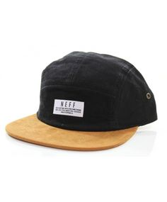 NEFF Kai Neville PRO Signature 5 panel strapback cap Black