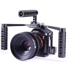 LockCircle Introduces BoomBooster Grip Handles for Their Sony A7s/GH4 BirdCage