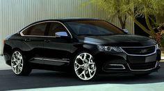 2018 Chevy Impala Black