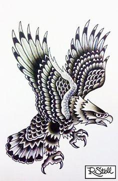 Traditional Eagle Tattoo Designs   Eagle Tattoo Designs-38505_136118833085454_100000620141122_221359 ...