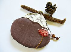Beautiful Handmade item. Metal frame purse/ frame coin purse/embroidery coin by DooDesign, $18.90