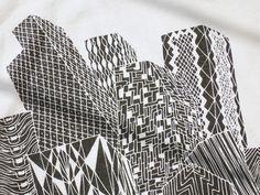 pattern city | Zentangle | Pinterest
