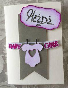 Eine kleine Aufmerksamkeit für eine kleines bezaubenders Wesen #Baby #Girl #Glückwunschkarte #Mädchen #Billet