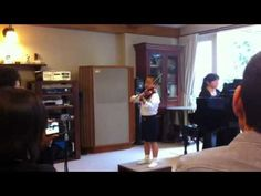 Handel violin sonata 2—See more of this young violinist #from_akaisuiseigou