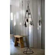 deko objekt weihnachtsbaum metall glas ca h150 cm. Black Bedroom Furniture Sets. Home Design Ideas