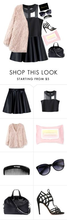"""#Dante5"" by credentovideos ❤ liked on Polyvore featuring MSGM, Chicnova Fashion, Forever 21, Givenchy, Aquazzura and dante5"