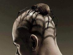 Halloween hairdo.