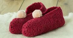 Tricoter des chaussons avec une pelote de laine