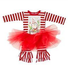 Haute Baby Merry Merry Tutu Set