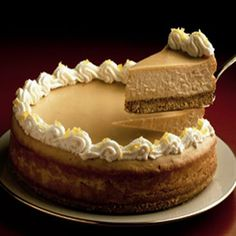 Butterscotch Cheesecake | #butterscotch #cheesecake #creamy #decadent