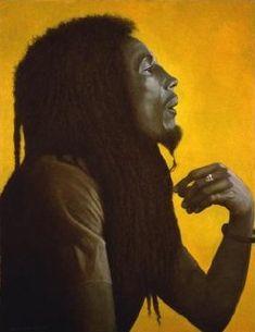 Bob Marley oils on canvas music portrait painted by George Underwood Bob Marley Legend, Bob Marley Art, Dancehall Reggae, Reggae Music, Reggae Art, Reggae Style, Ziggy Stardust Album Cover, Bob Marley Pictures, Jamaican Music