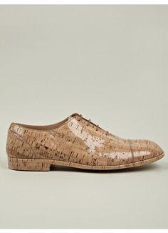 22 Men's Cork Lace Up Shoes by Maison Martin Margiela