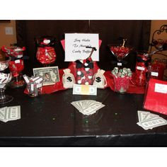 Scarface Theme Candy Buffet