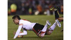 El Gol de Carlos Sanchez. Foto a Foto #River #Libertadores