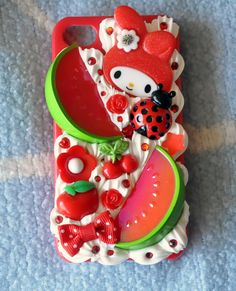 My Melody phone case: This has to be the cutest case I've ever seen