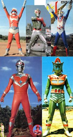 Ultraman clone collection...!