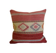 Issy Granger London - Unique Furniture and Homeware Kilim Cushions, Throw Pillows, Crochet Motif, Unique Furniture, Armchair, Pure Products, Wool, Cotton, Handmade